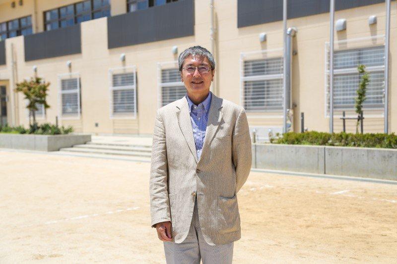従来の小・中学校の枠組みにとらわれない、9年間の一貫した教育を展開する「和歌山市伏虎義務教育学校」